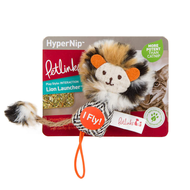 Petlinks Lion Launcher Hypernip Launcher Cat Toy - Carousel image #1