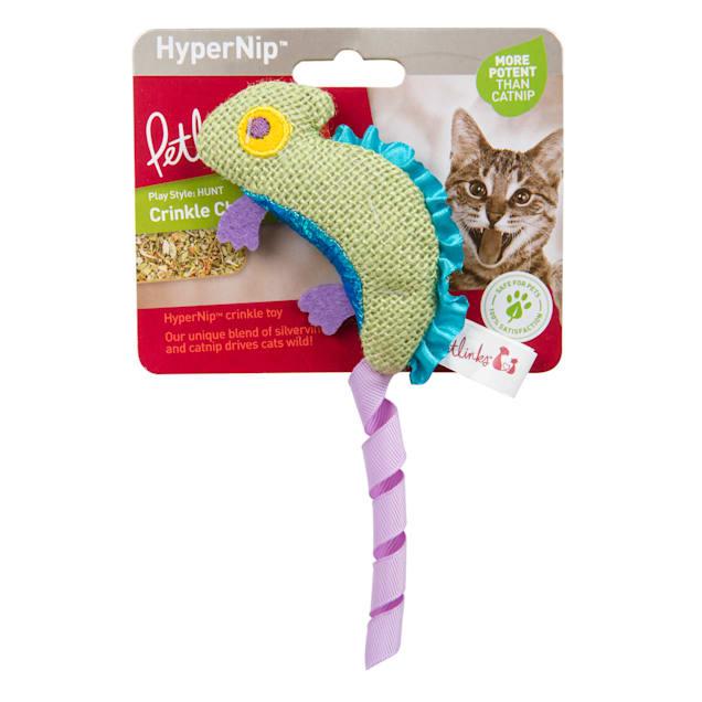 Petlinks Crinkle Chameleon Hypernip Crinkle Cat Toy - Carousel image #1