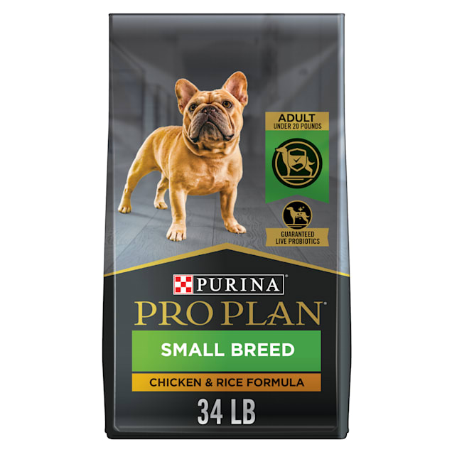 Purina Pro Plan With Probiotics Weight Control Shredded Blend Chicken & Rice Formula Small Breed Dry Dog Food, 34 lbs. - Carousel image #1