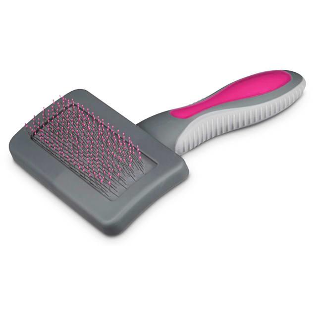 Well & Good Pink Cushion Slicker Cat Brush - Carousel image #1