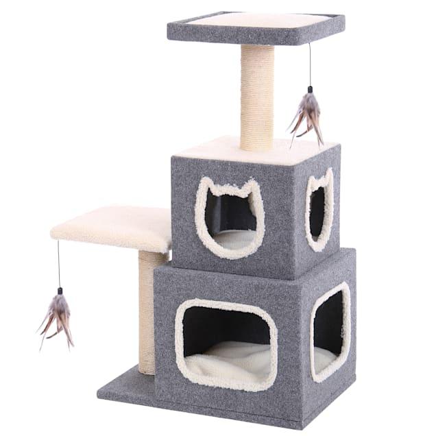 "Penn Plax Cat Cube Tower, 41"" - Carousel image #1"