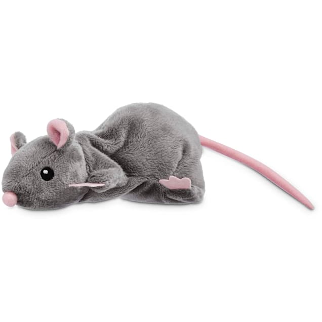 Leaps & Bounds Grey Rat Cat Toy - Carousel image #1