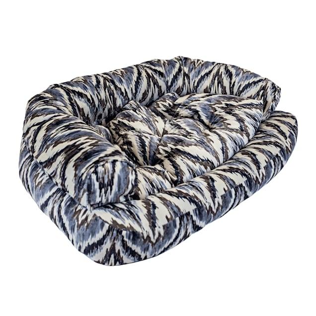 "Snoozer Luxury Overstuffed Pet Sofa in Tempest Indigo, 30"" L x 40"" W - Carousel image #1"