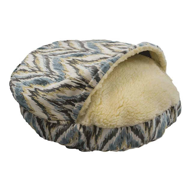 "Snoozer Premium Micro Suede Cozy Cave Pet Bed in Tempest Spring, 35"" L x 35"" W - Carousel image #1"