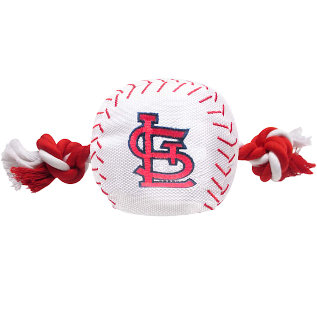 Pets First St. Louis Cardinals Baseball Toy, Medium - Carousel image #1