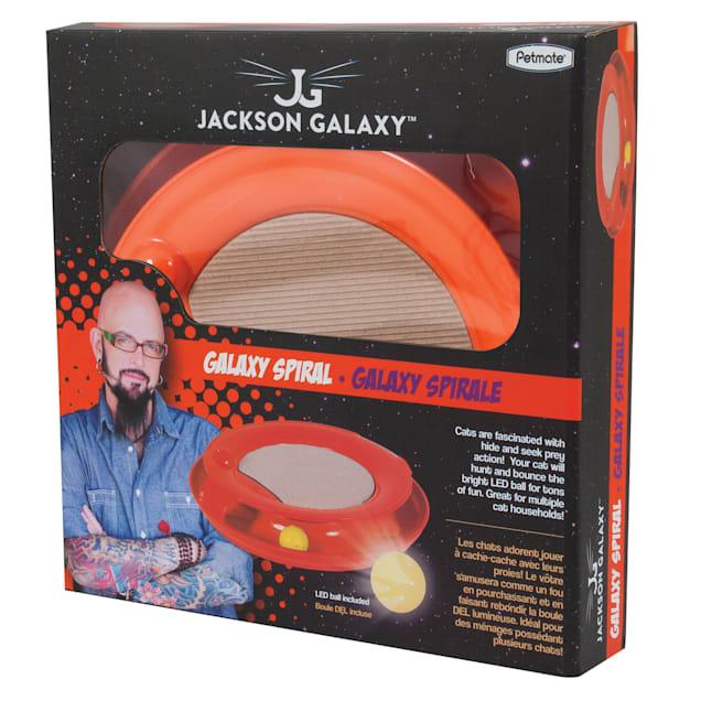 Jackson Galaxy Spiral, Orange - Carousel image #1