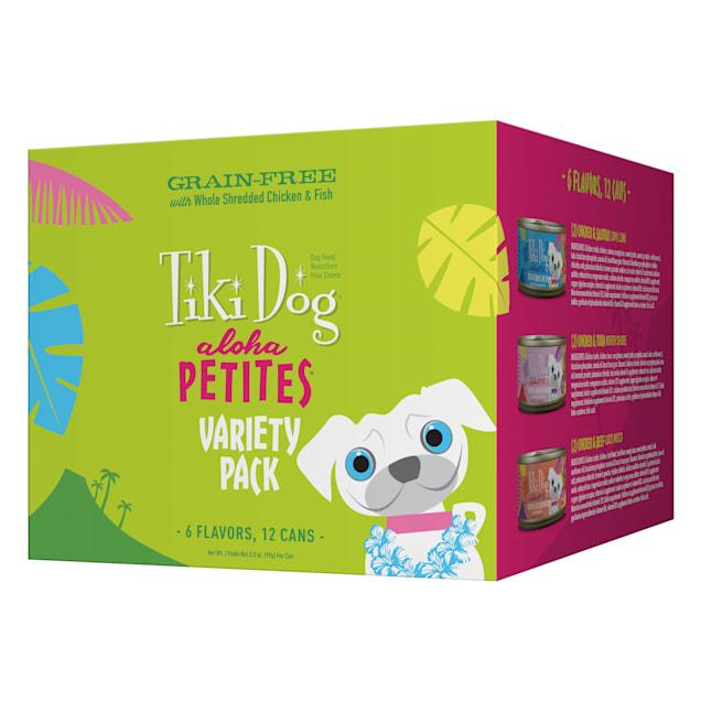 Tiki Dog Aloha Petites Variety Pack Small Breed Wet Dog Food, 3.5 oz., Case of 12 - Carousel image #1