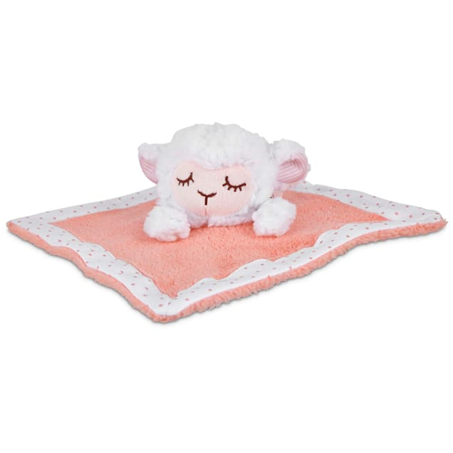 Leaps & Bounds Little Loves Plush Lamb Puppy Toy, Large - Carousel image #1
