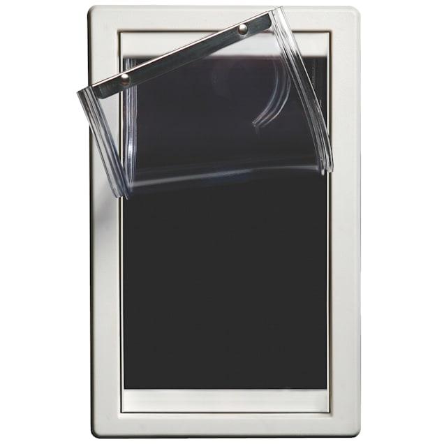 Perfect Pet Screen Guard Pet Door in White, 9.5IN x 1.25IN x 15.125IN - Carousel image #1