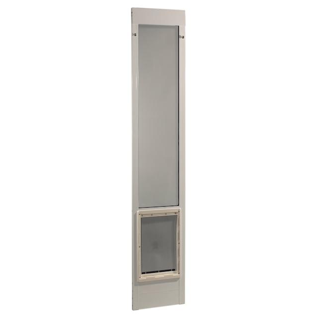 Perfect Pet 75'' Pet Patio Door in White, 20.25IN x 1.875IN x 75IN - Carousel image #1