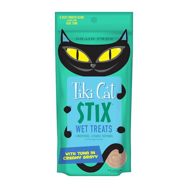 Tiki Cat Stix Tuna Mousse Cat Treats, 3 oz. - Carousel image #1