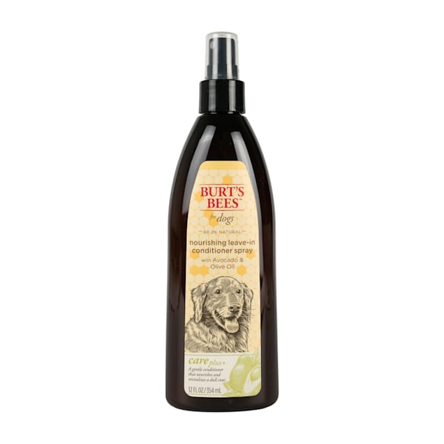 Burt's Bees Care Plus+  Nourishing Avocado & Olive Oil Leave-In Conditioner Dog Spray, 12 fl. oz. - Carousel image #1