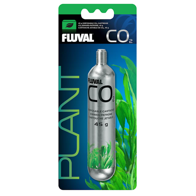 Fluval Pressurized Disposable CO2 Cartridge, 45 gram - Carousel image #1