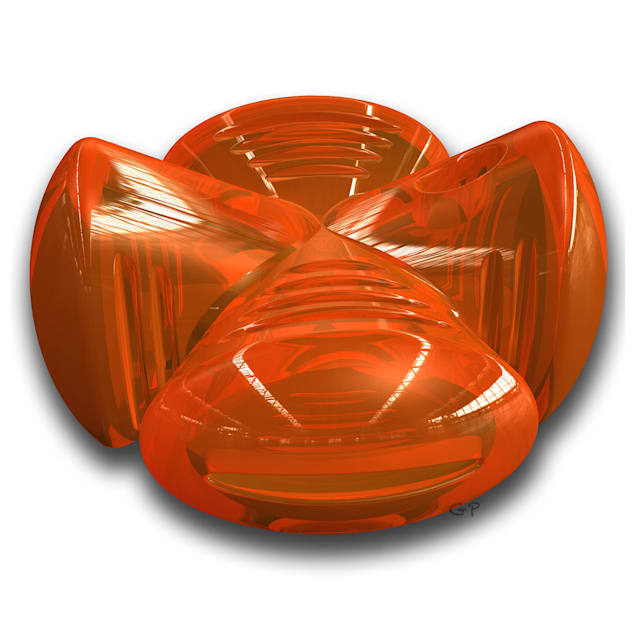 Bionic Stuffer in Orange - Carousel image #1