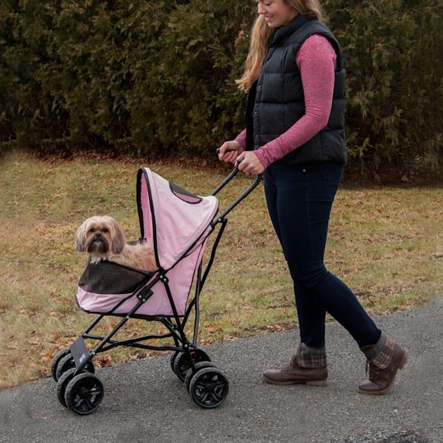 Pet Gear Travel Lite Pet Stroller in Pink - Carousel image #1