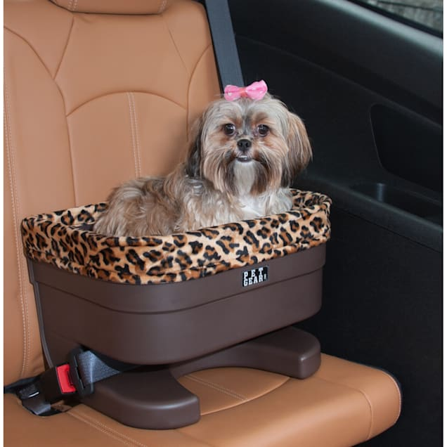 """Pet Gear Bucket Seat Pet Booster in Chocolate with Jaguar Insert, 17"""" - Carousel image #1"""