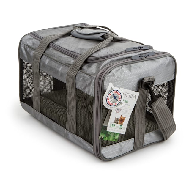 Sherpa To Go Pet Carrier Gray, Medium - Carousel image #1