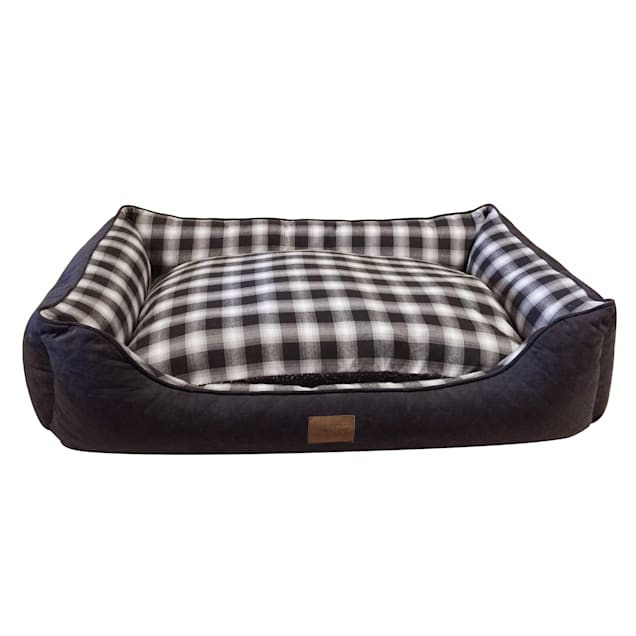 """Pendleton Plaid Kuddler in Charcoal Ombre, 35"""" L x 26"""" W - Carousel image #1"""