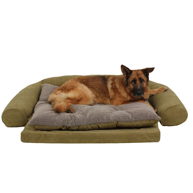 "Carolina Pet Ortho Sleeper Comfort Couch in Sage, 69"" L x 48"" W - Carousel image #1"