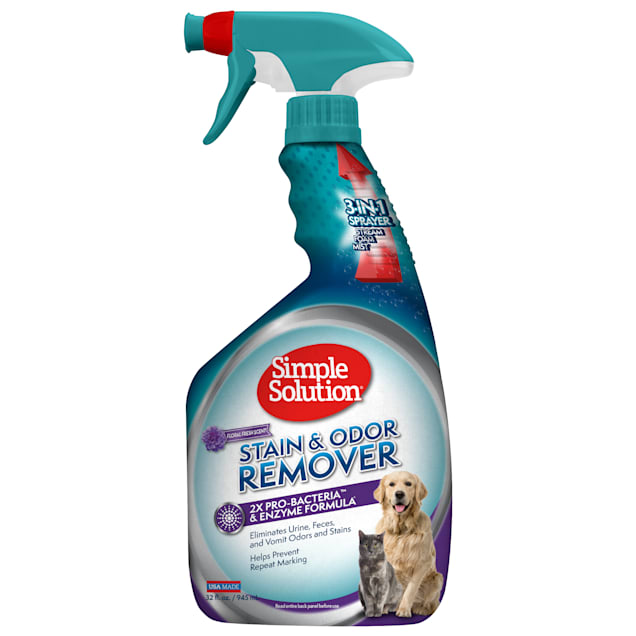 Simple Solution Scented Stain+Odor Remover, 32 fl. oz. - Carousel image #1