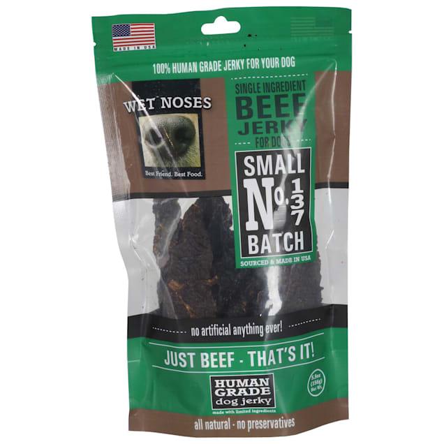 Wet Noses Beef Jerky Dog Treat, 5.5 oz. - Carousel image #1