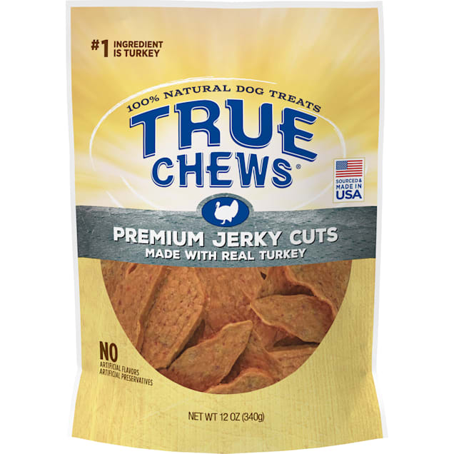 True Chews Premium Jerky Cuts Made With Real Turkey Dog Treats, 12 oz. - Carousel image #1