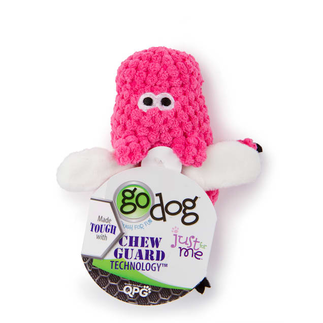goDog Flying Pink Pig with Bubble Plush Toy, Large - Carousel image #1
