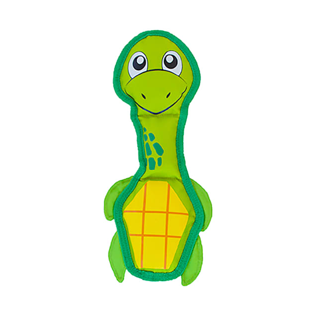Outward Hound Fire Biterz Sea Turtle Dog Toy - Carousel image #1