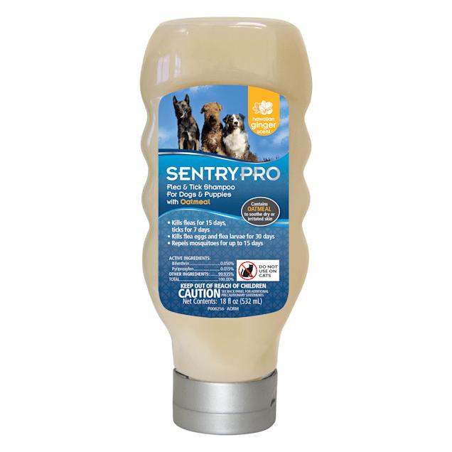 Sentry Pro Flea & Tick Shampoo for Dogs, 18 fl. oz. - Carousel image #1
