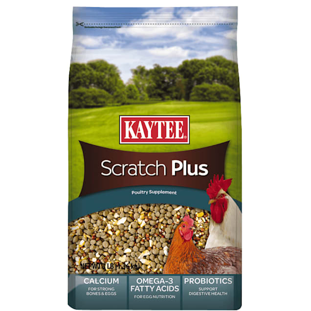 Kaytee Scratch Plus Poultry Supplement for Birds, 3 lbs. - Carousel image #1