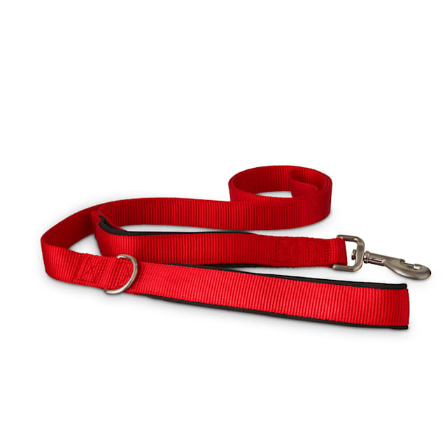 Good2Go Red 2-in-1 Dog Leash, 6 ft. - Carousel image #1