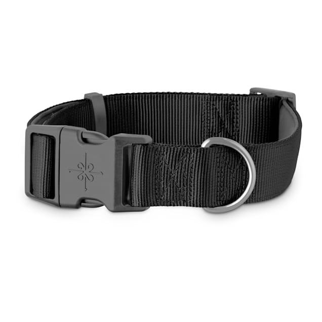 Good2Go Black Neoprene Padded Dog Collar, XX-Large/3X-Large - Carousel image #1