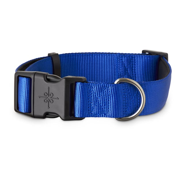 Good2Go Blue Neoprene Padded Dog Collar, XX-Large/3X-Large - Carousel image #1