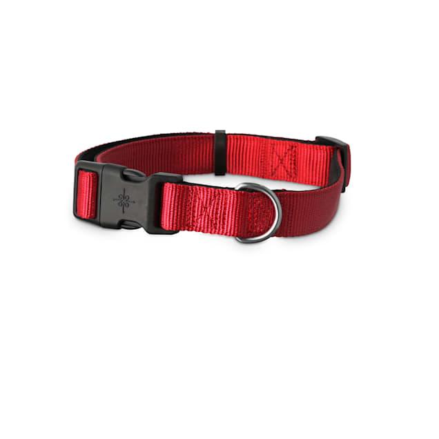Good2Go Red Neoprene Padded Dog Collar, Medium - Carousel image #1