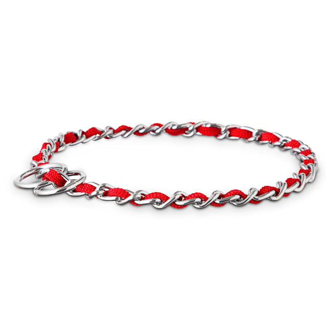 Good2Go Red Comfort Chain Dog Collar, Large - Carousel image #1
