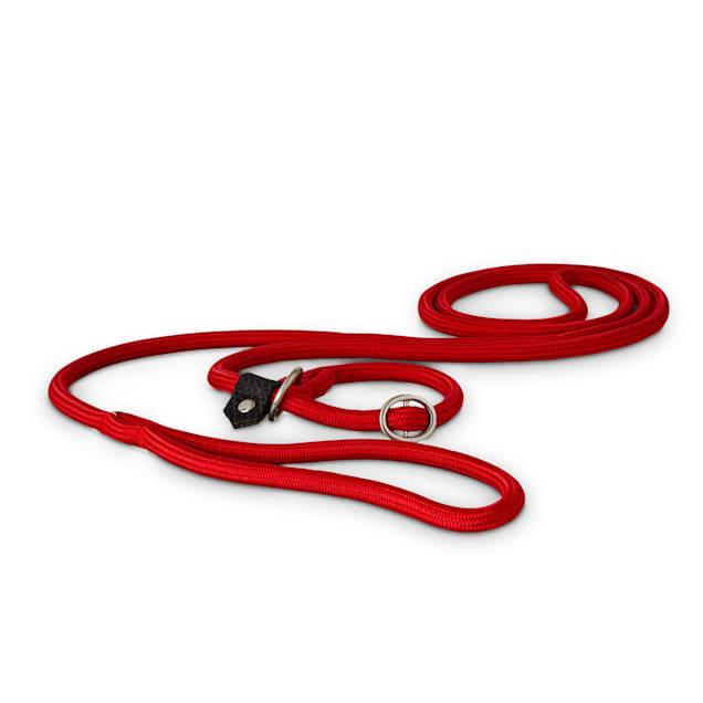 Good2Go Red Nylon Rope Dog Slip Leash, 6 ft. - Carousel image #1