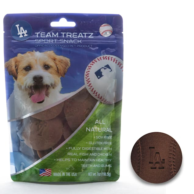 Pets First Los Angeles Dodgers Dog Treats, 7 oz. - Carousel image #1