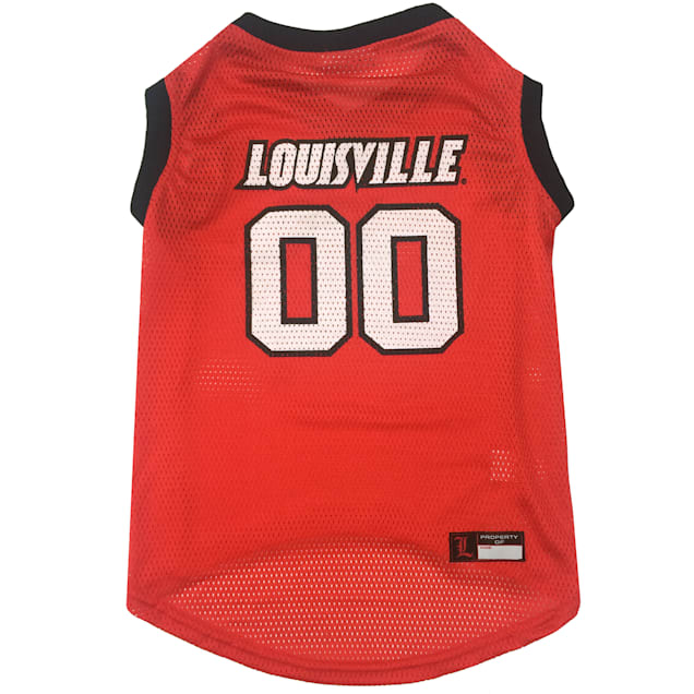 Pets First Louisville Basketball Jersey, X-Small - Carousel image #1