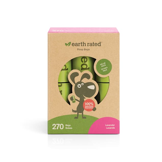 Earth Rated PoopBags 270 Scented Refill Bags - Carousel image #1