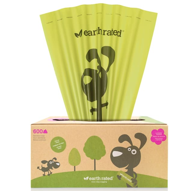 Earth Rated PoopBags Pantry Pack 600 Scented Bags - Carousel image #1
