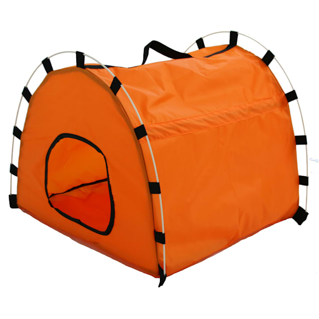 """Pet Life Skeletal Outdoor Travel Collapsible Pet House Tent, 19.2"""" L X 18.9"""" W X 15.7"""" H - Carousel image #1"""