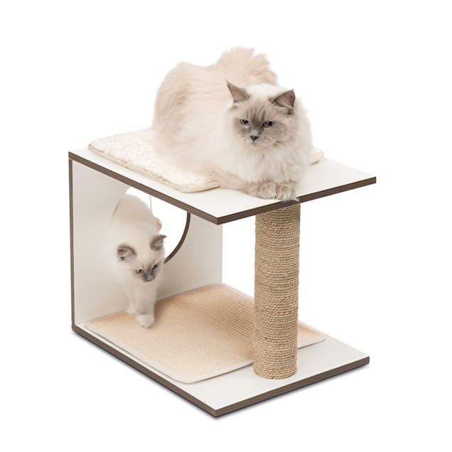 """Vesper V-stool White, 14.57"""" H - Carousel image #1"""