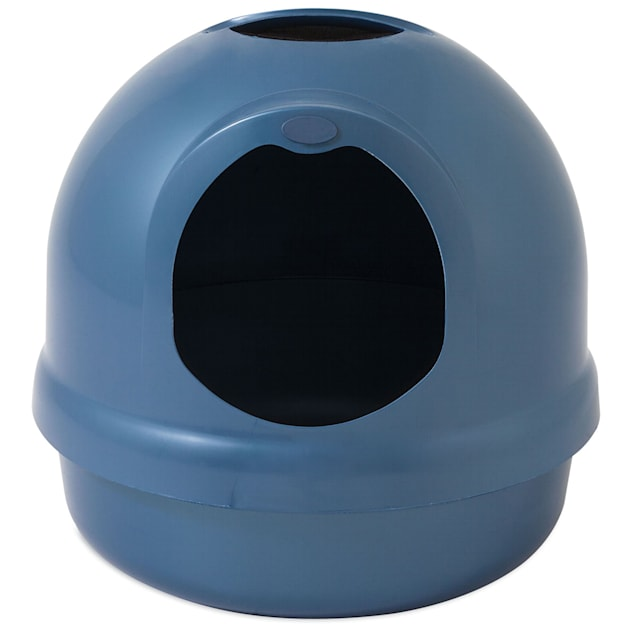 Booda Dome Blue Litter Box - Carousel image #1