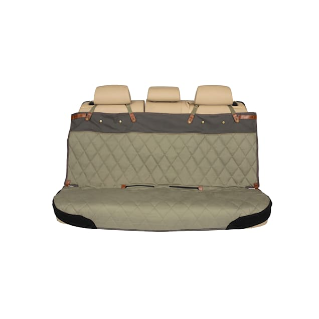 """PetSafe Happy Ride Quilted Bench Green Seat Cover for Dogs, 10.75"""" L X 8.25"""" W X 11.5"""" H - Carousel image #1"""