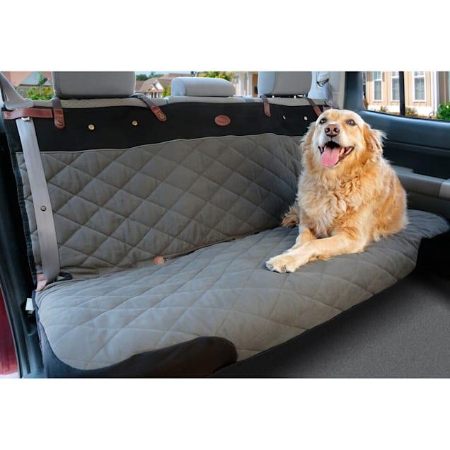 Solvit Premium Bench Seat Cover SmartFit Design Grey, 45 IN L X 56 IN W - Carousel image #1