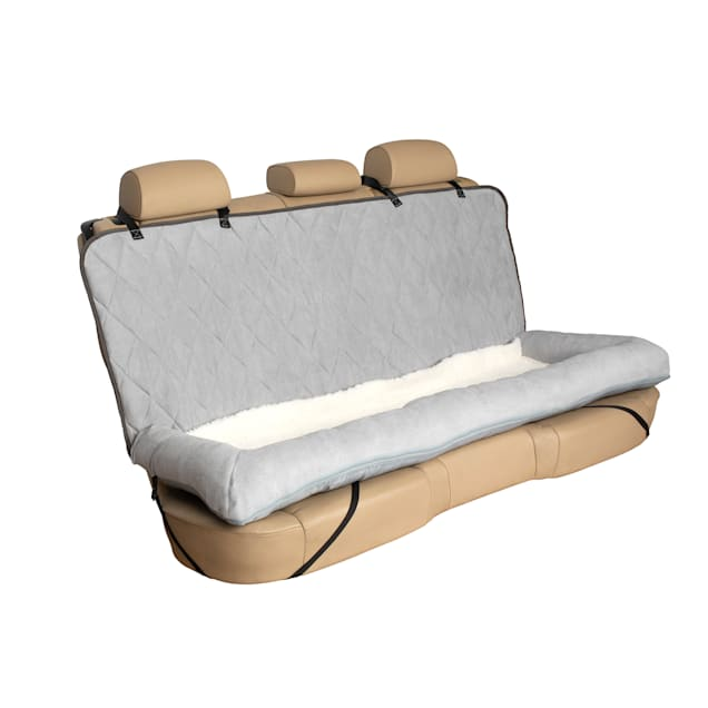 "PetSafe Happy Ride Grey Car Cuddler Dog Bed, 7.75"" L X 3.38"" W X 9.5"" H - Carousel image #1"