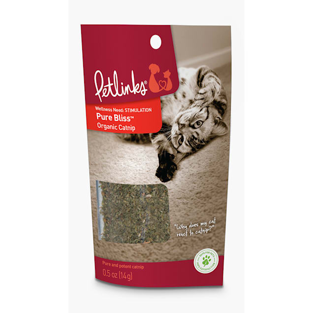 Petlinks Pure Bliss Organic Catnip, 0.5 oz. - Carousel image #1