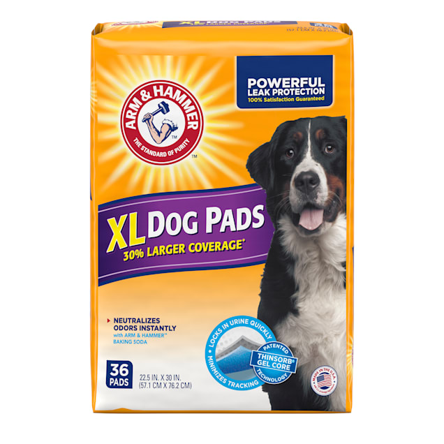 Arm & Hammer X-Large Dog Pads, 36 Count - Carousel image #1