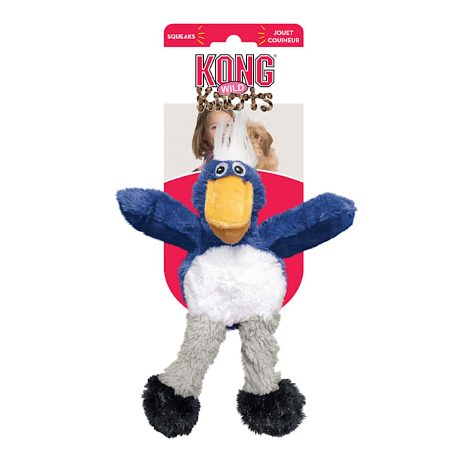 KONG Wild Knots Toucan Dog Toy, Small - Carousel image #1