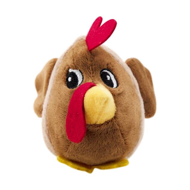 Outward Hound Fattiez Chicken Dog Toy, X-Small - Carousel image #1